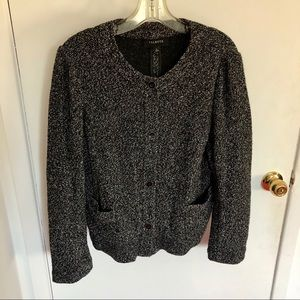 ⭐️2/$25⭐️ Talbots Buttoned Cardigan with Pockets